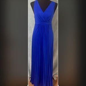 Matty M Vibrant Blue Maxi Dress Size XS